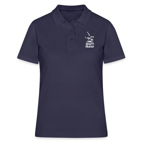 Motiv med vit logga - Women's Polo Shirt