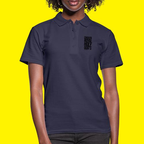 Chosen Royal Holy God's - 1st Peter 2: 9 - Women's Polo Shirt