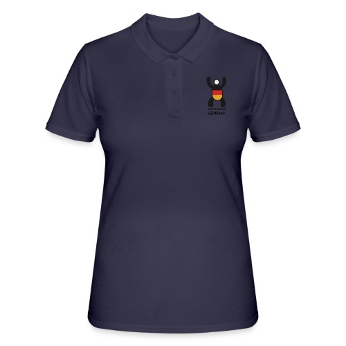 Happy People of Germany - Women's Polo Shirt