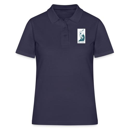 La calavera - Camiseta polo mujer