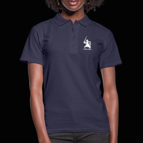 white jellona finland - Women's Polo Shirt