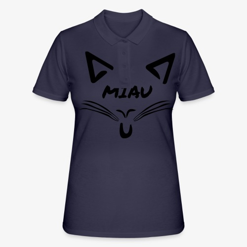Miau - Frauen Polo Shirt