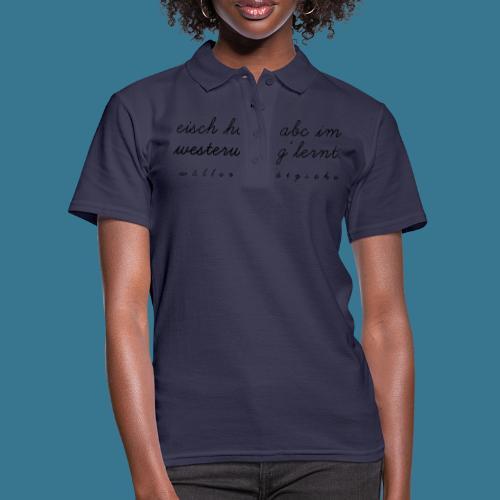 I-Dötzsche - Frauen Polo Shirt