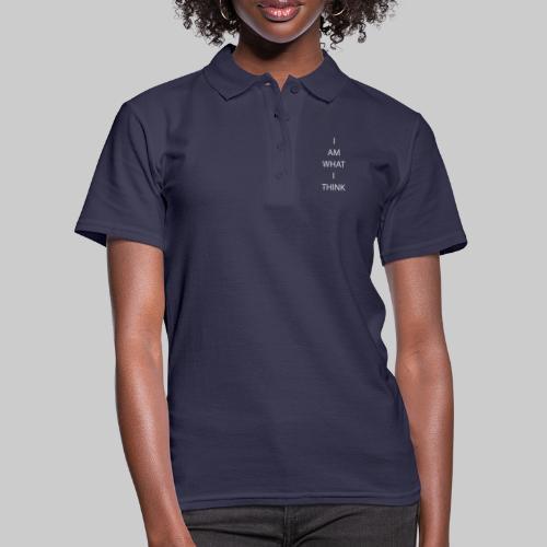 I AM WHAT I THINK - Women's Polo Shirt