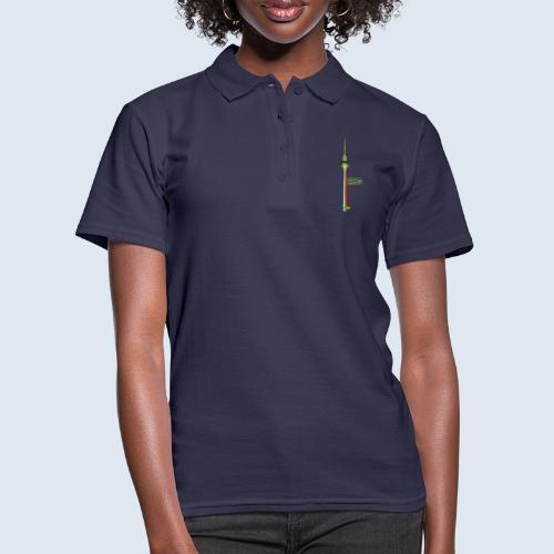 "Berliner Original ""Fernsehturm"" PopArt Design - Frauen Polo Shirt"