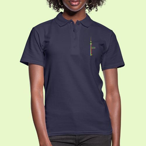 Fernsehturm PopArt BerlinLightShow - Frauen Polo Shirt