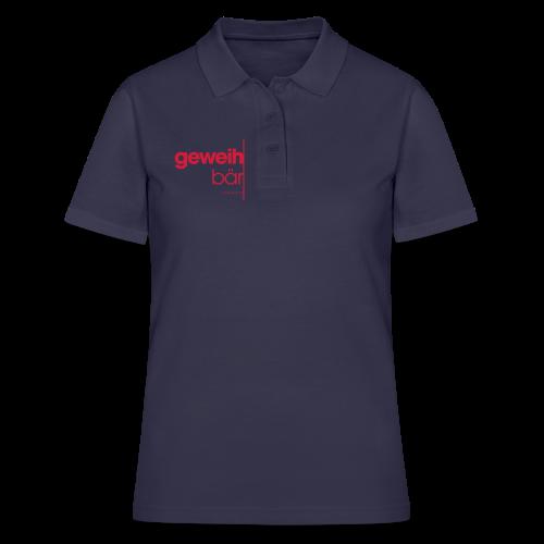 geweihbär 2019 - Frauen Polo Shirt