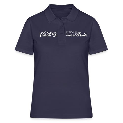VET_bianco_sito - Women's Polo Shirt