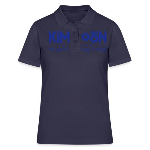 Kimitoön: yes, you're pronouncing it wrong (blå) - Women's Polo Shirt