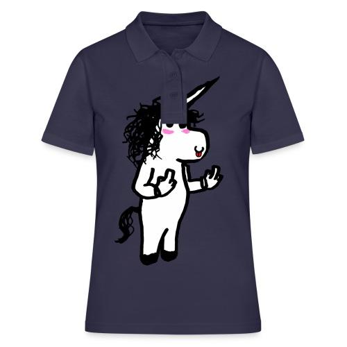 unicorno maleducato - Polo donna
