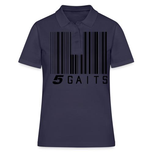 5gaitsBarcode - Women's Polo Shirt