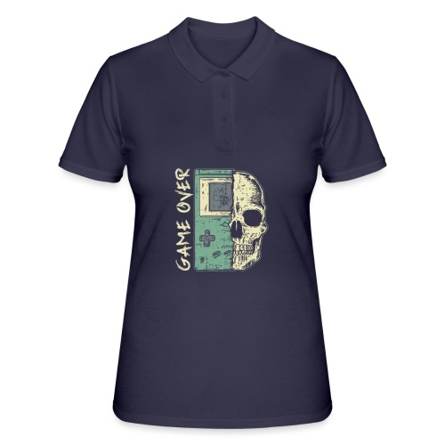 Game over Gaming Spruch Outfit für Zocker Gamer - Frauen Polo Shirt