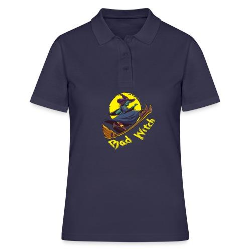 Bad Witch Outfit für Hexen im Kessel brauen - Frauen Polo Shirt