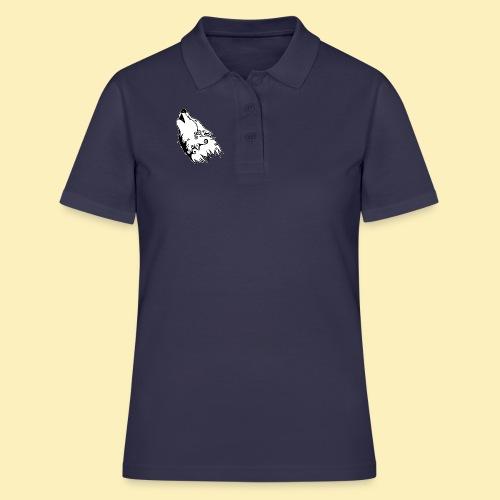 Le Loup de Neved (version contour blanc) - Women's Polo Shirt