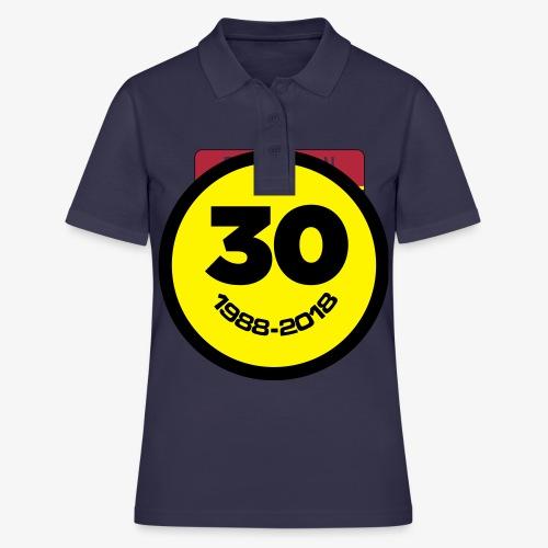 30 Jaar Belgian New Beat Smiley - Vrouwen poloshirt