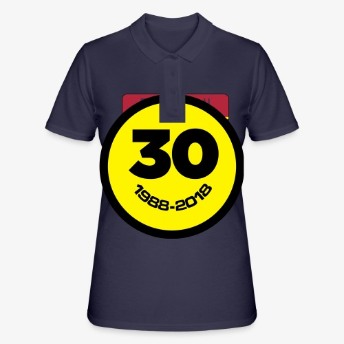 30 Jaar Belgian New Beat Smiley - Women's Polo Shirt