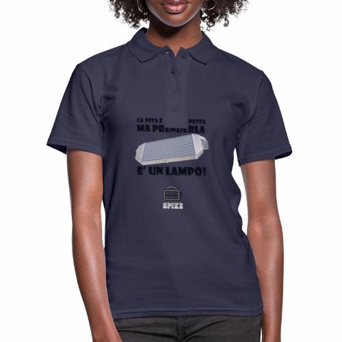 INTERCOOLER (nero) - Women's Polo Shirt