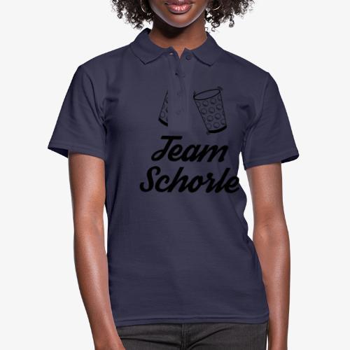 Team Schorle - Frauen Polo Shirt