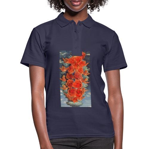 Angeli e rose. Oggetti con arte. Regali originali. - Women's Polo Shirt