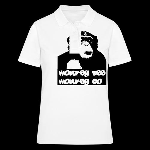 chimp - Frauen Polo Shirt