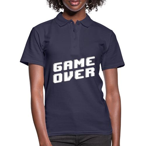 Game Over - Frauen Polo Shirt