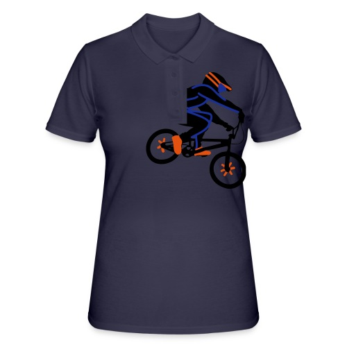 BMX Rider Dark - Women's Polo Shirt