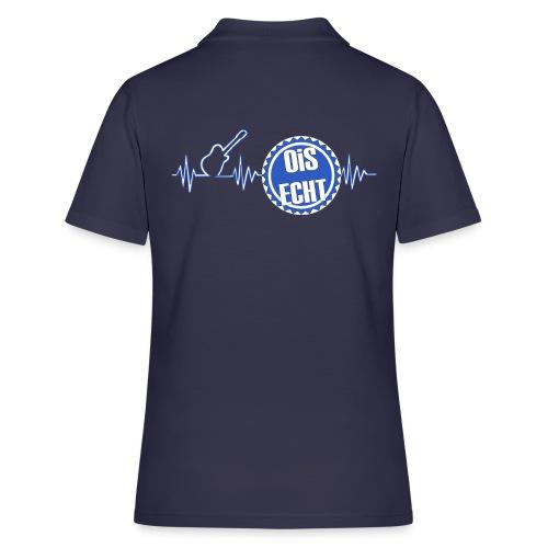 Polo Shirts mit 2 Logos - Frauen Polo Shirt