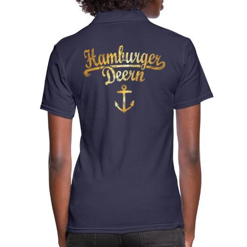 Hamburger Deern Klassik (Vintage Goldgelb) - Frauen Polo Shirt
