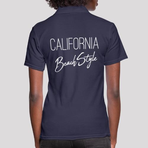 California Beach Style Shirt - Frauen Polo Shirt