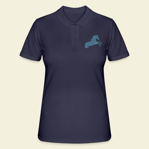 Cheval feuille - Polo Femme