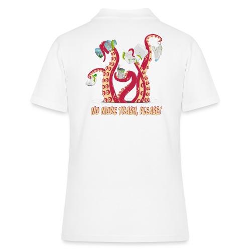 Octopus : No More trash,please! - Women's Polo Shirt