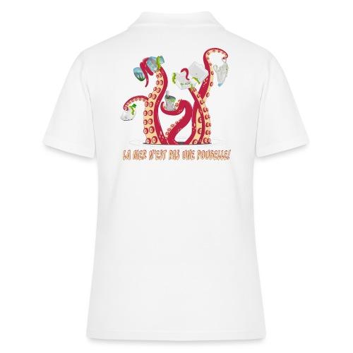La mer n'est pas une poubelle! - Women's Polo Shirt