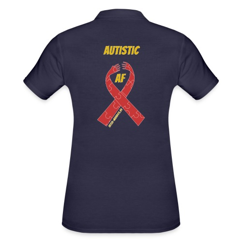 Autistic as F*** - Frauen Polo Shirt