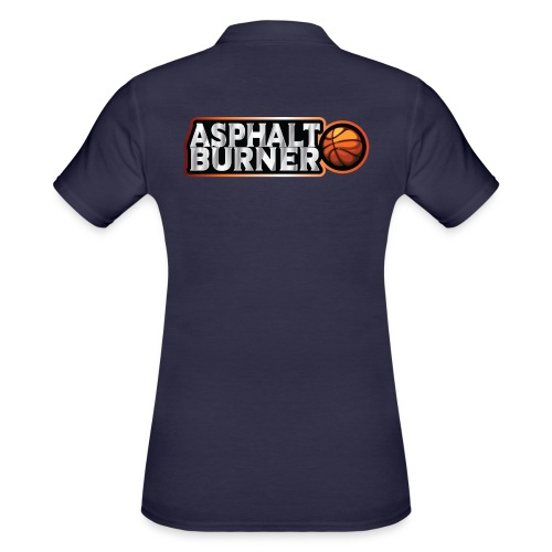 Asphalt Burner - for streetball players - Women's Polo Shirt