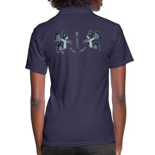 Turteltauben AHOI - Frauen Polo Shirt