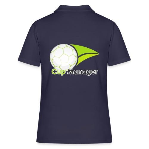 Cup Manager Vertikal Logo - Pikétröja dam
