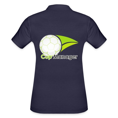 Cup Manager Vertikal Logo - Women's Polo Shirt