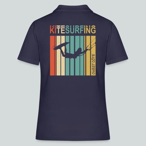 Kitesurfing Ouest Côte - Women's Polo Shirt