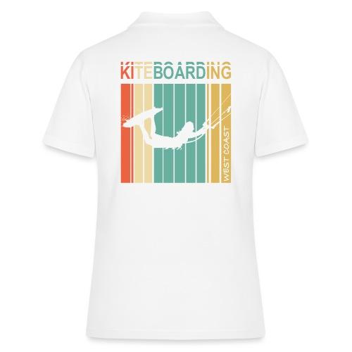 Kiteboarding WEST COAST - Women's Polo Shirt