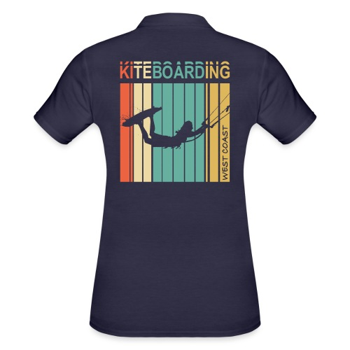 Kiteboarding WEST COAST - Women's Polo Shirt