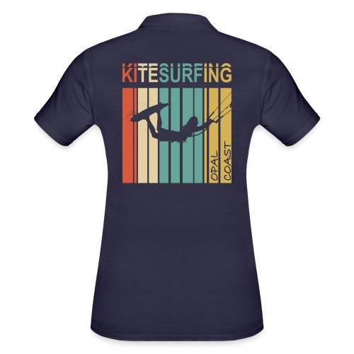 Kitesurfing Opal Coast II - Women's Polo Shirt