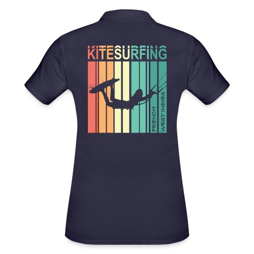 Kitesurfing FWI - Women's Polo Shirt