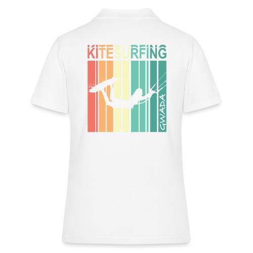 Kitesurfing GWADA - Women's Polo Shirt
