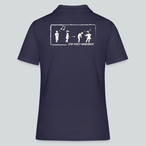 Stop au harcèlement de rue : sifflements - Women's Polo Shirt