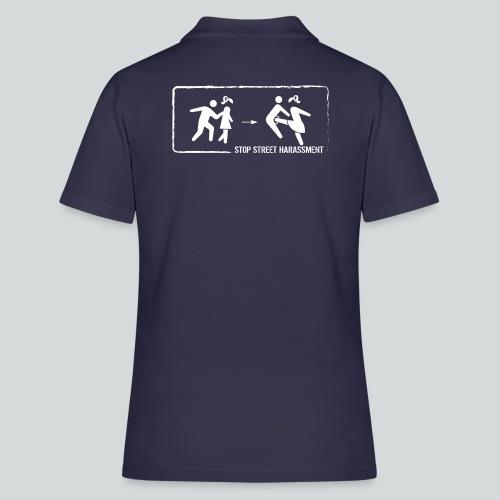Stop au harcèlement de rue : On ne touche pas! - Women's Polo Shirt