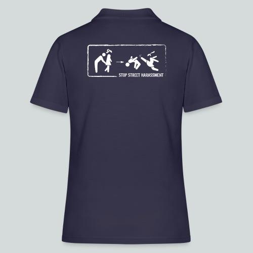 Stop au harcèlement de rue : main aux fesses - Women's Polo Shirt