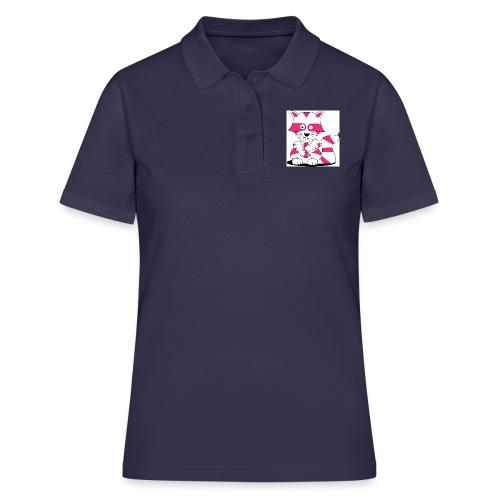 randolpf the raging racoon Digitalmotiv - Frauen Polo Shirt