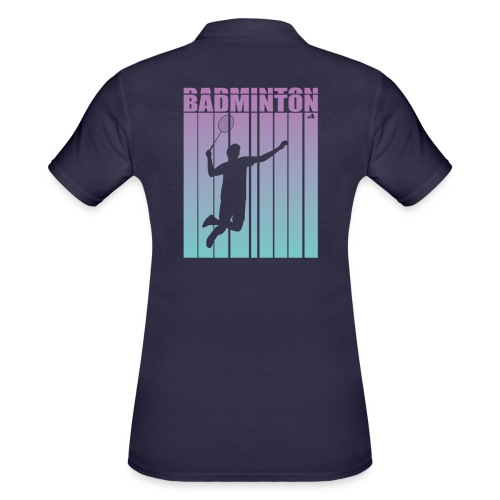 Badminton Jump Smash - Women's Polo Shirt