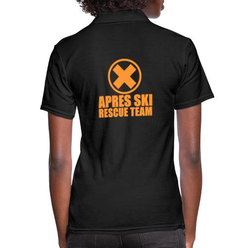 APRES SKI RESCUE TEAM - Women's Polo Shirt