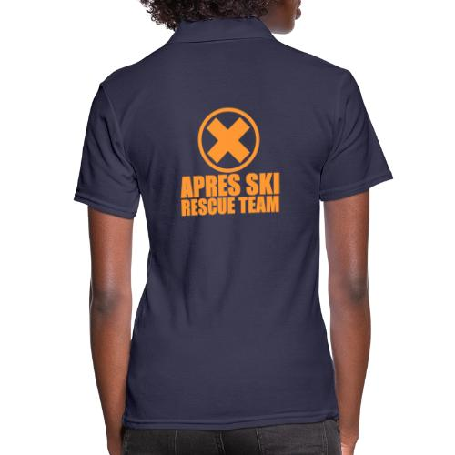 APRES SKI RESCUE TEAM - Women's Polo Shirt